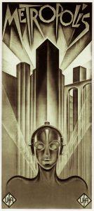 La locandina del film Metropolis
