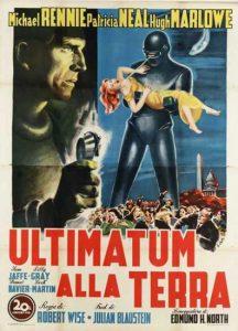 Ultimatum alla terra 1951 locandina film