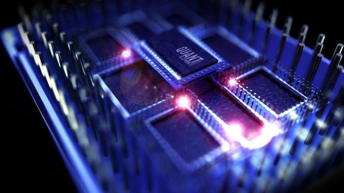 computer quantistico chip