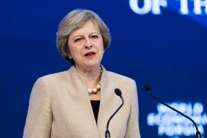 Theresa May al World Economic Forum