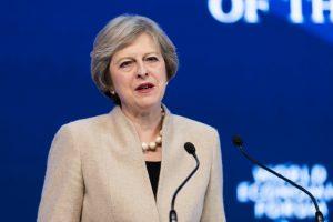 Theresa May al World Economic Forum