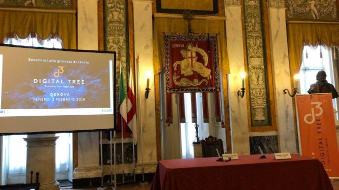 Digital Tree Inaugurazione Genova