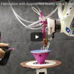 Stampa 3D robotizzata: arriva RoMA, stampante per la creazione 3D in real time (con la realtà aumentata)