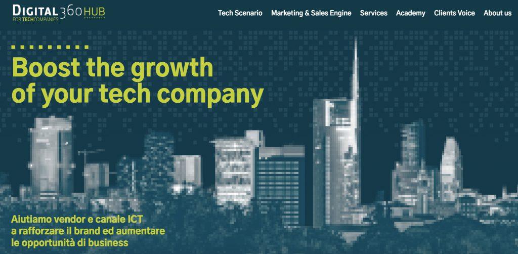 Digital360 Hub website