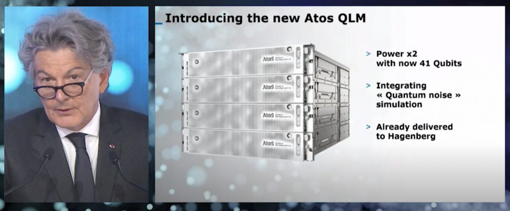 Atos Quantum Learning Machine