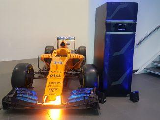 Dell EMC PowerMax per la F1 McLaren