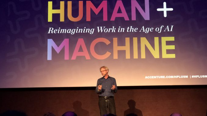 Paul Daugherty Human + Machine