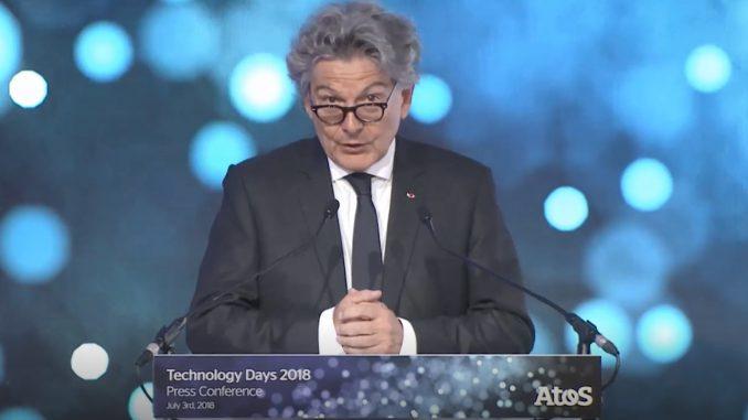 Thierry Breton - Atos Technology Days 2018