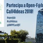 Open-F@b Call4Ideas 2018: riparte la caccia all'innovazione sostenibile