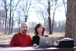 Mauro Bennici e Ester Liquori, founder You Are My Guide e creatori di GhostWriter