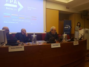 Annual Report 2018 di FPA - i relatori
