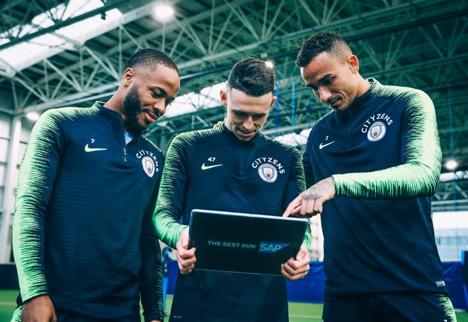 Giocatori del Manchester City
