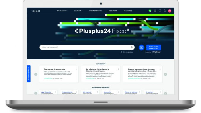 IBM Watson AI - Plusplus24 fiscoAI