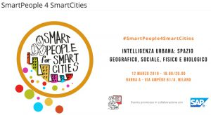 Intelligenza urbana - SmartPeople4SmartCities