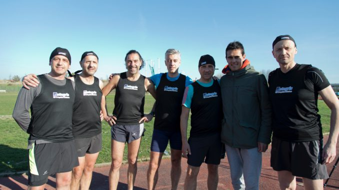 Team Integris con Meucci