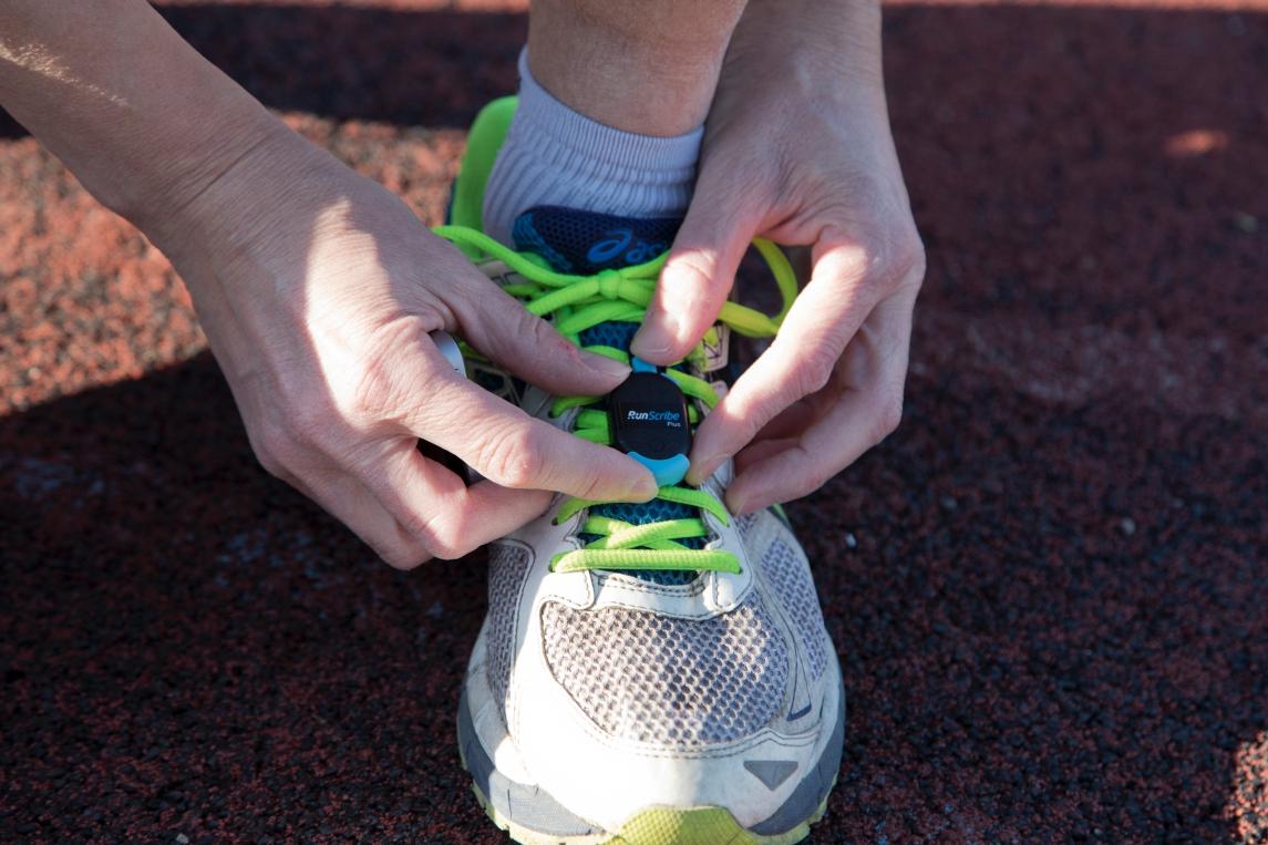 Il footpad utilizzato per la Maratona di Roma dal Team Integris