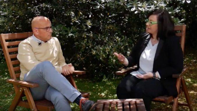 Nicoletta Boldrini e Alfredo Nulli parlando di edge