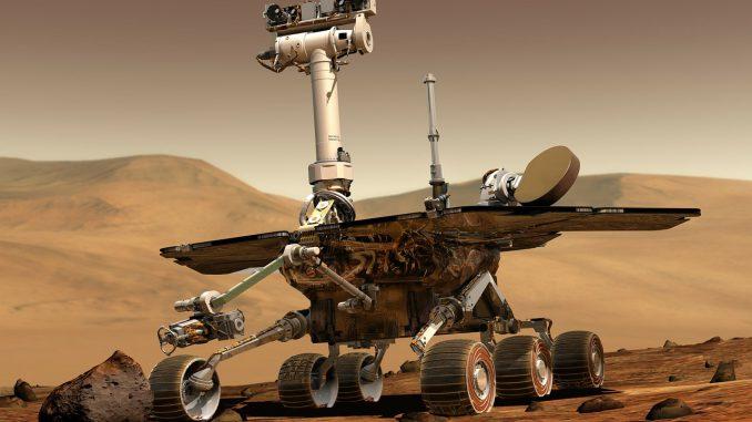 Esplorazioni spaziali - Mars Rover Space Travel