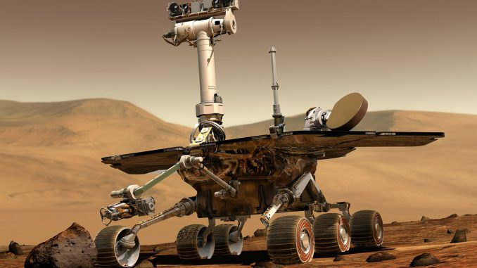 Esplorazioni spaziali - Mars Rover Space Travel