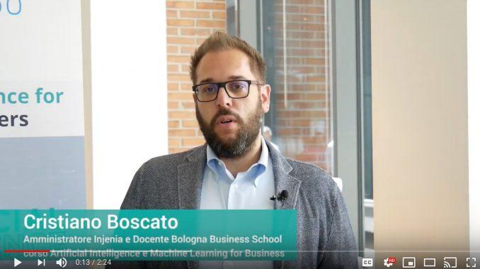 Cristiano Boscato, Amministratore di Injenia e docente alla Bologna Business School