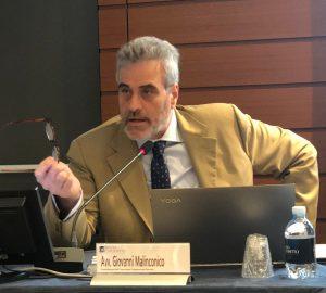 Giovanni Malinconico, avvocato e coordinatore dell'Organismo Congressuale Forense