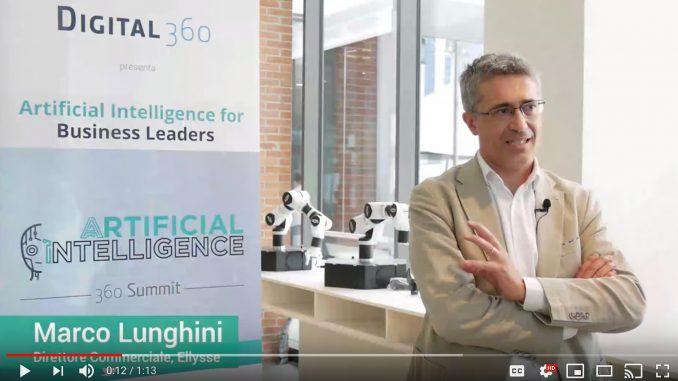 Marco Lunghini - Direttore Commerciale di Ellysse - Videointervista a AI360 Summit