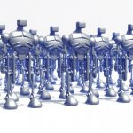 Isaac Asimov e le tre leggi della robotica
