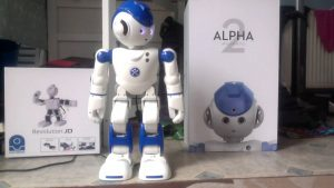 Alpha 2 Social robot