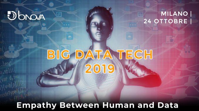 Big Data Tech 2019 - Evento BNova - Milano 24 ottobre