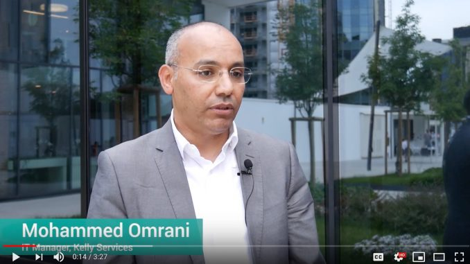 Mohammed Omrani, IT manager di Kelly Services ai microfoni di AI4Business