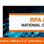 RPA, Robotic Process Automation e AI, torna il Congresso Nazionale promosso da RPA Italy