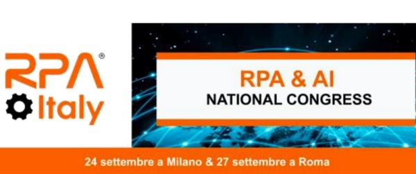 RPA Italy Congresso Nazionale Robotic Process Automation e AI