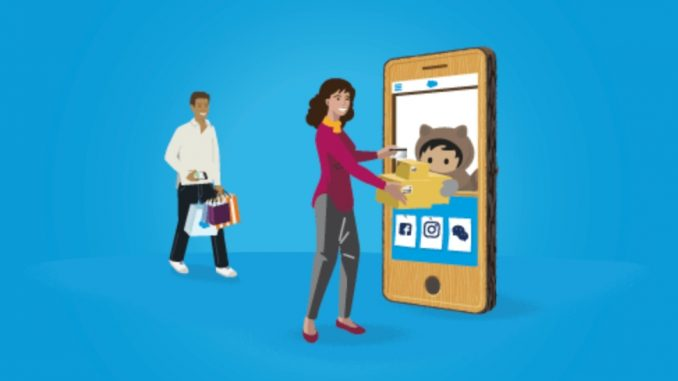 Customer Engagement - Report Saleforce Connected Shoppers
