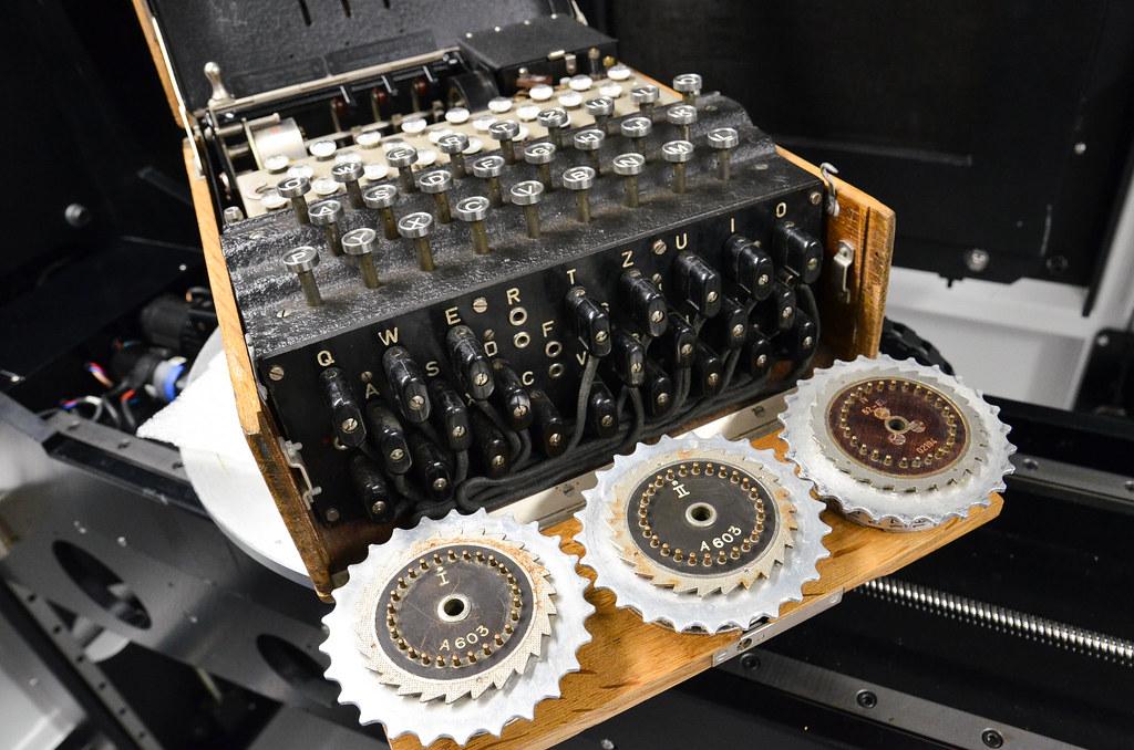 macchina per fare messagi con la crittografia