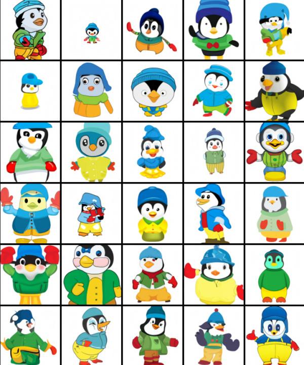 DALL-E pinguini
