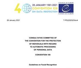 riconoscimento facciale consiglio europa