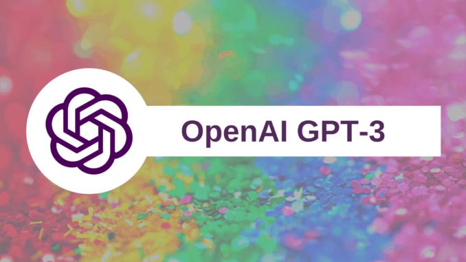 GPT-3 testi