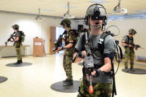 l'uso della realtà virtuale nell'esercito