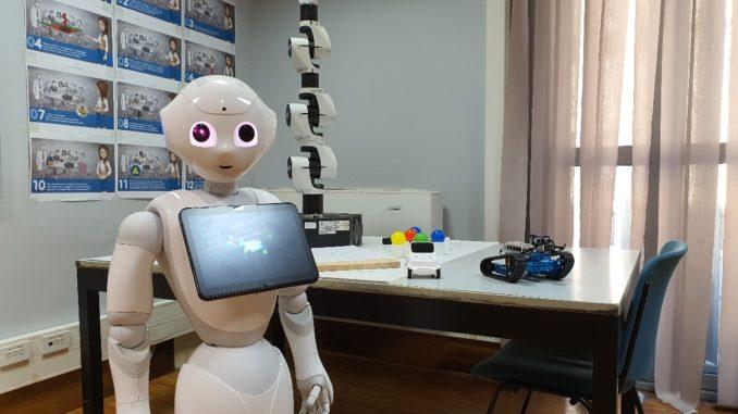 Pepper social robot