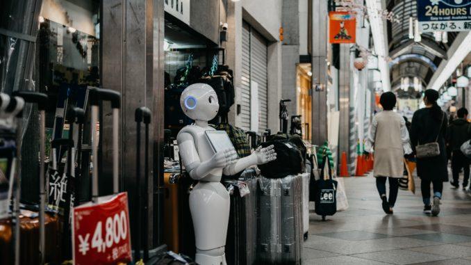 shopping assistance robot